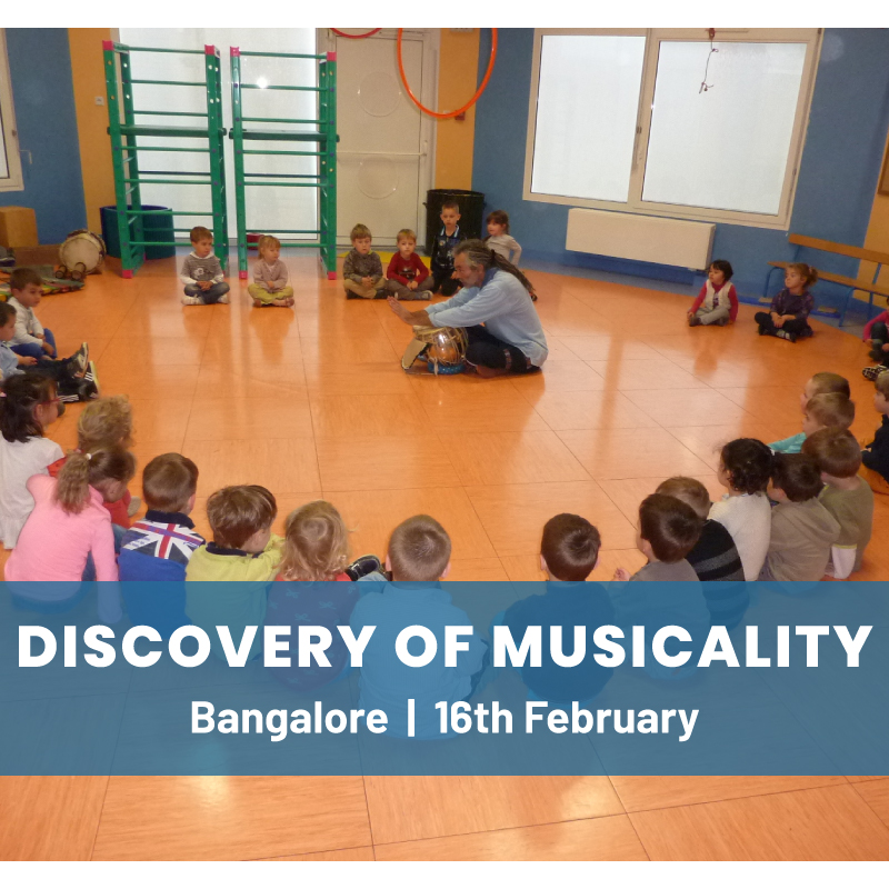 Discovery of Musicality - A Workshop for Children & Parents