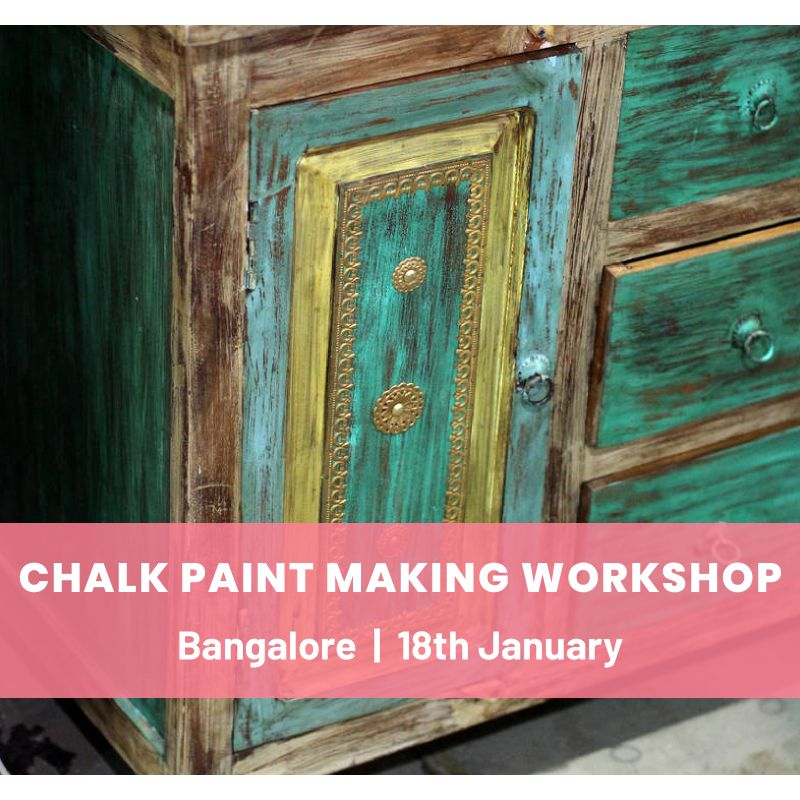 Chalk Paint Making & Furniture Upcycling Workshop