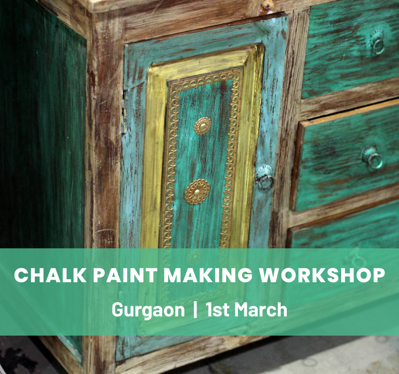 Chalk Paint Making & Furniture Upcycling