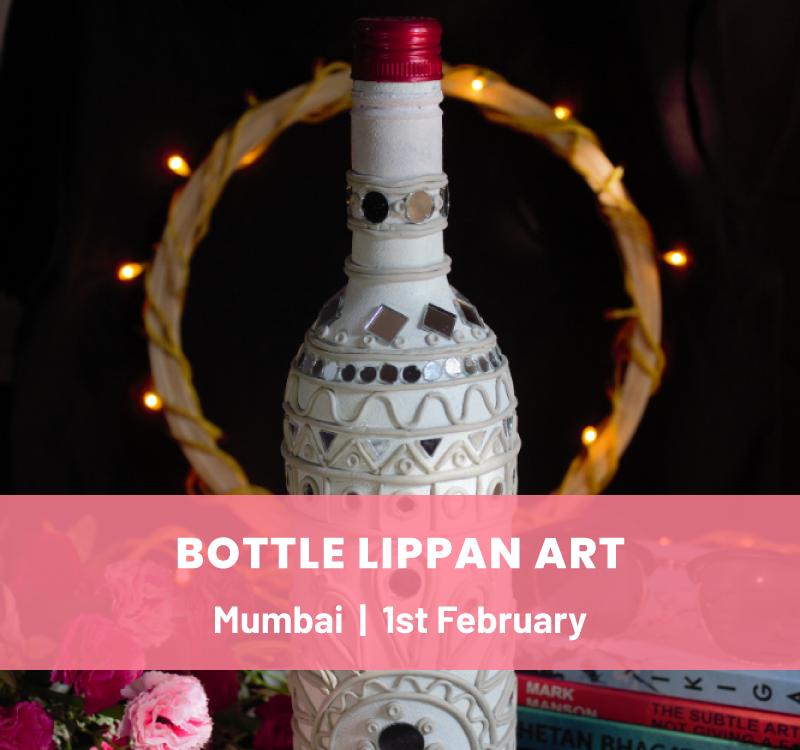 Bottle Lippan Art