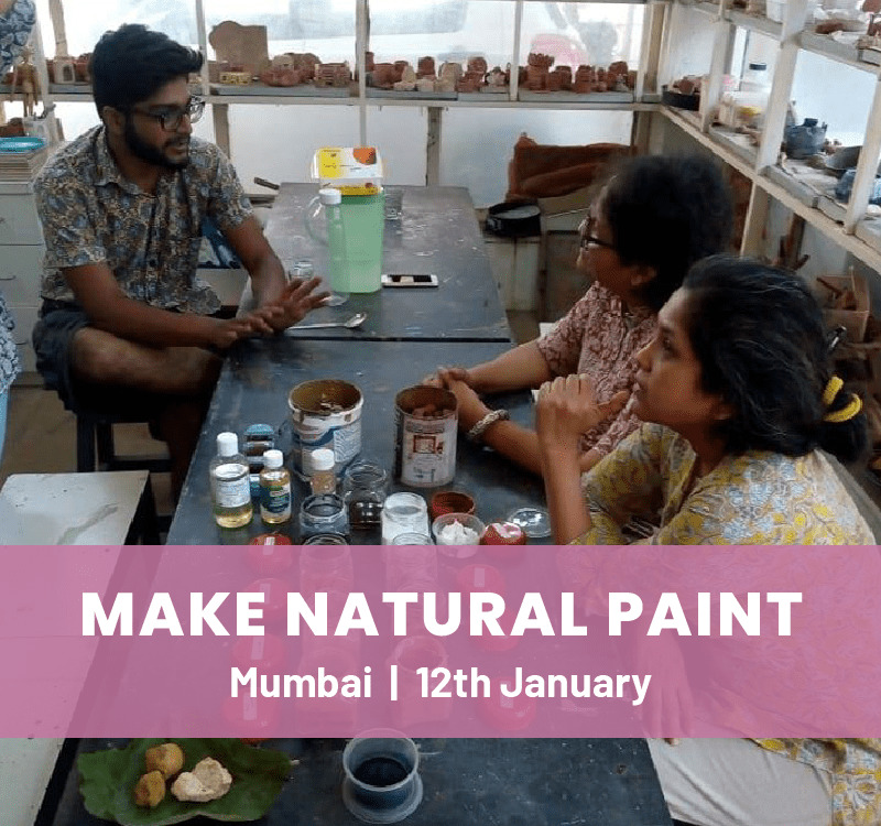 Natural Paints & Wall Mural Painting Workshop